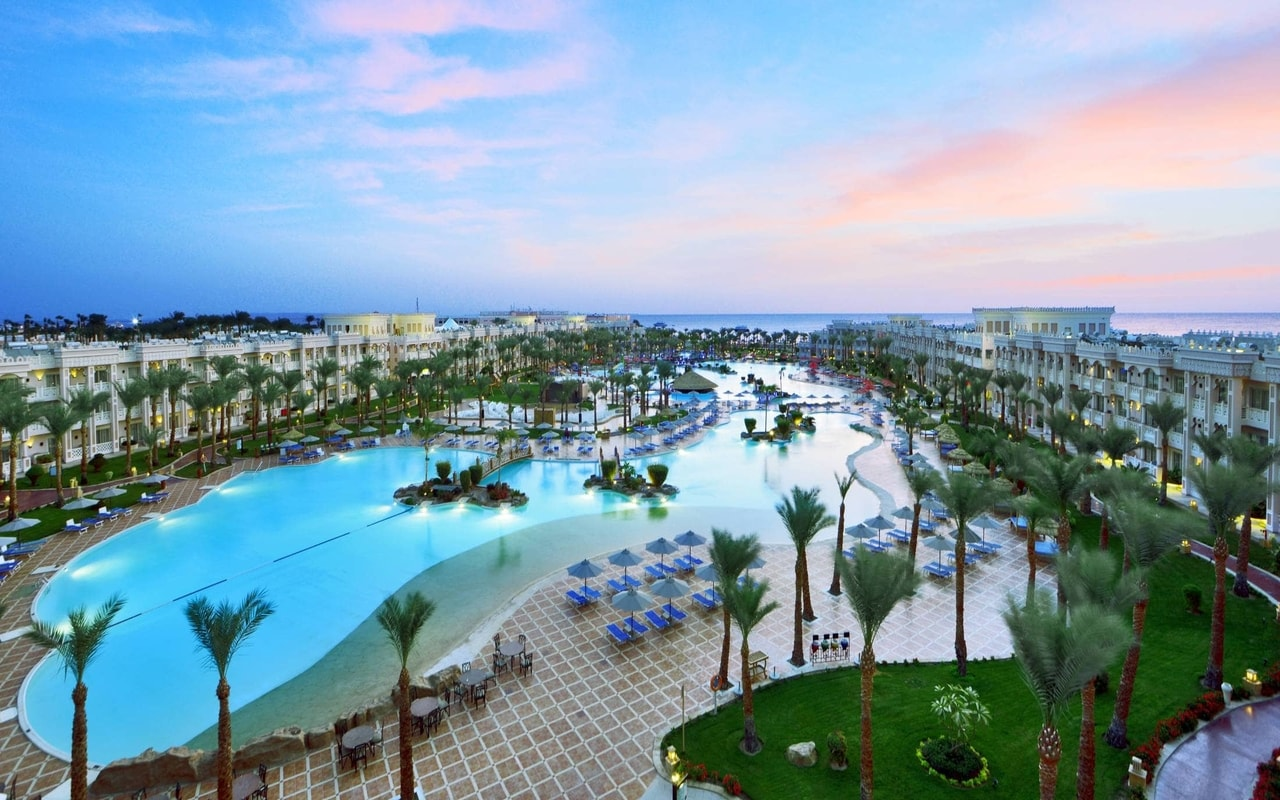 Albatros Palace overview Ananas Tours All inclusive holiday Egypt